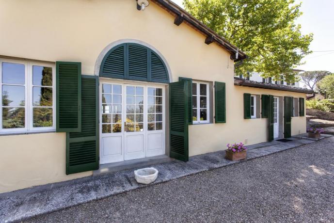 Villa di lusso romantica con appartamenti Cortona