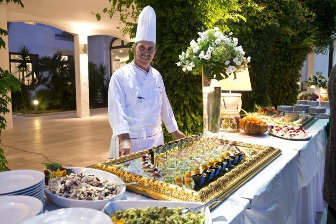 Chef dell'hotel di Vieste