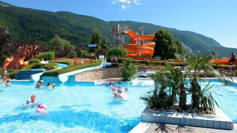 Parco acquatico in Hotel a Molveno