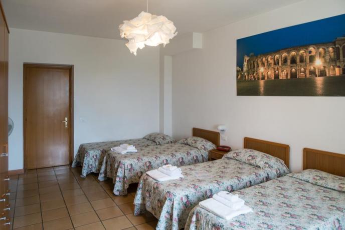 Camere per famiglie in centro ad Assisi