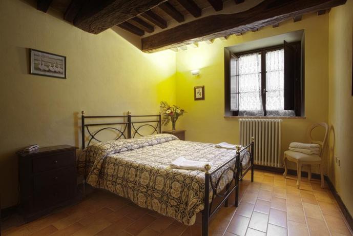 Camera Matrimoniale in Pacchetto Benessere.