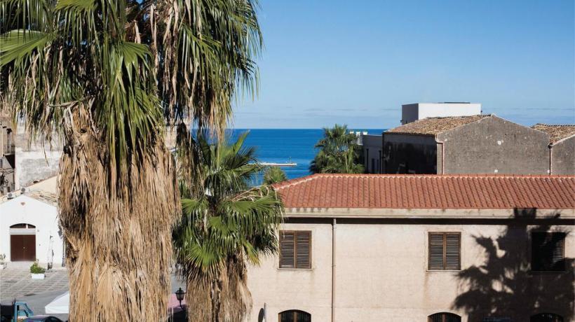 splendida vista dall'hotel del mare cristallino,Sicilia