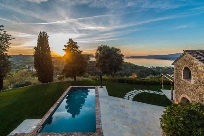 Villa IL GRANAIO con piscina e spa privata