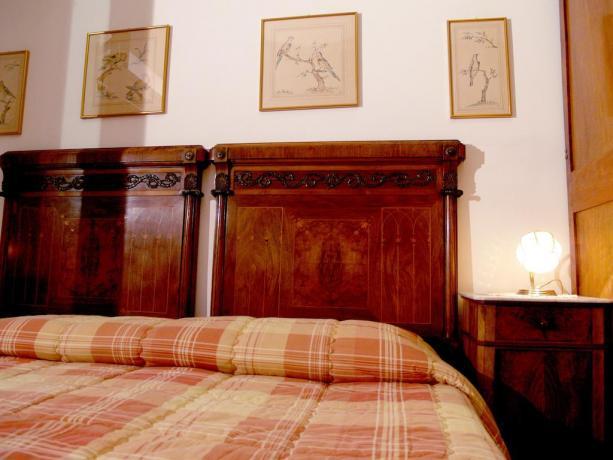 Camera doppia con balcone B&B a Roma