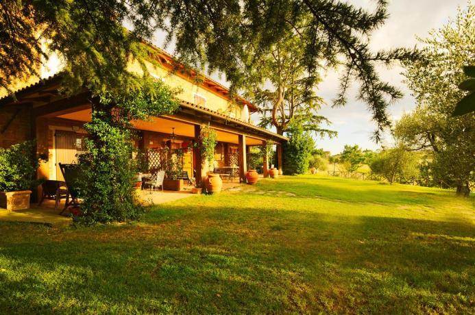 Il Portico dell'Agriturismo in Umbria