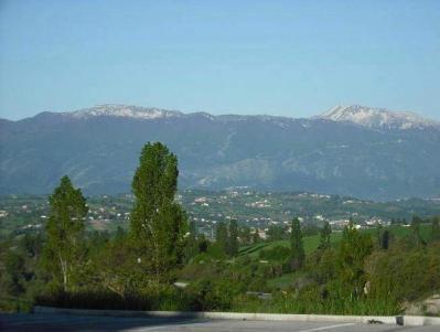Veduta Estiva dall' Hotel di Campitello Matese