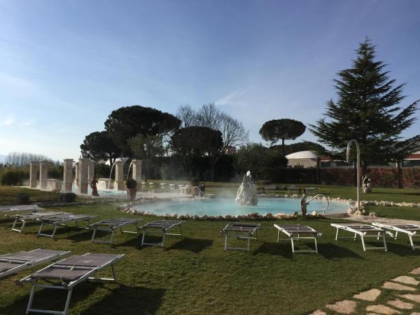 Hotel Viterbo con piscina termale