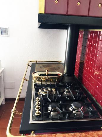 Cucina Attrezzata Villa Vacanze per Amici