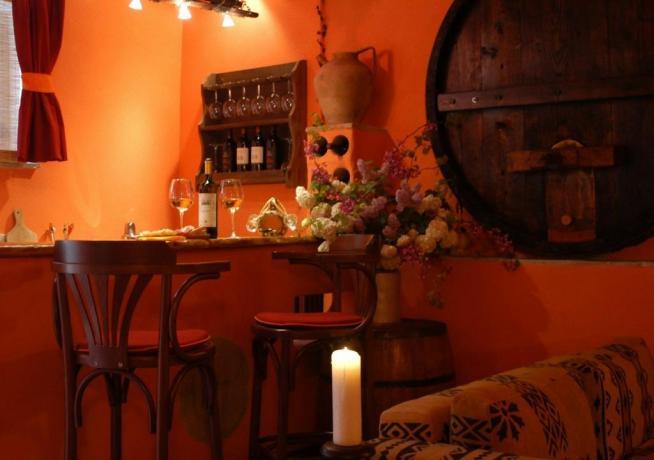 Agriturismo con degustazione Vini della casa Saragano