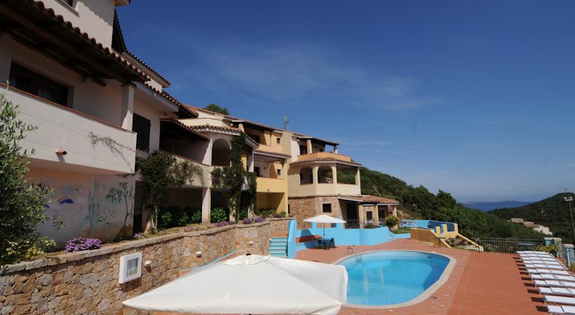 Particolare del residence in Costa Smeralda