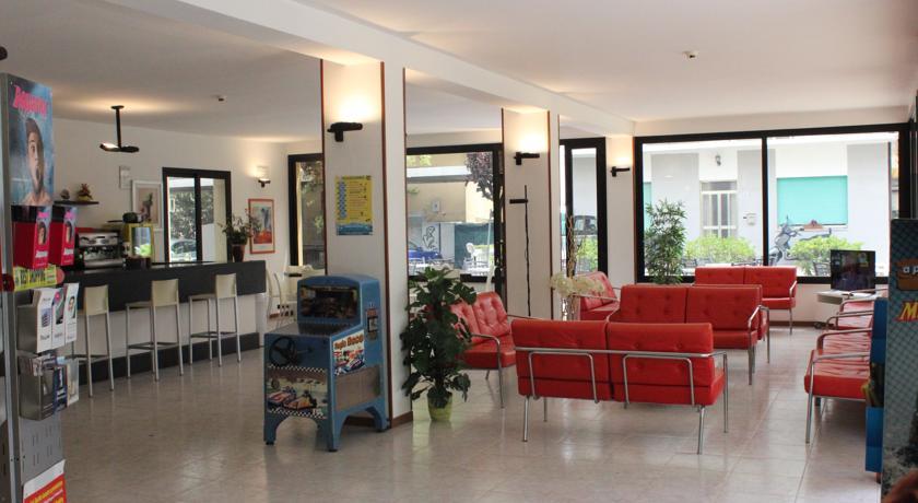 Hotel Vicino al mare di Rimini Bar Giardino