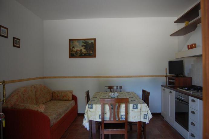 Casa vacanze con divano letto e cucina Macerata-Appignano