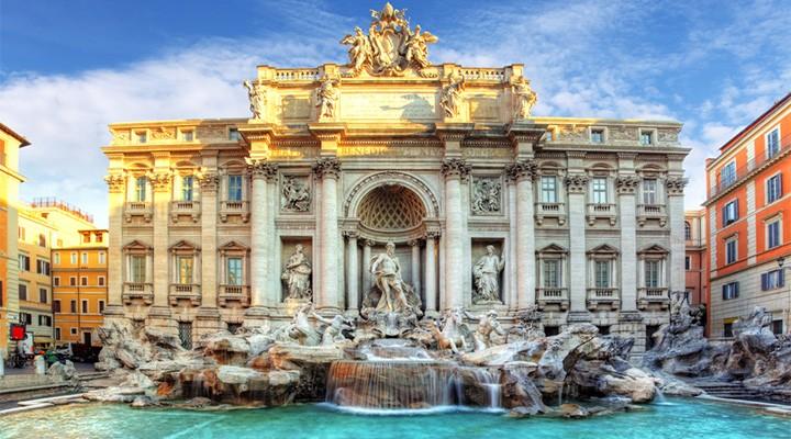 Fontana di Trevi nella Capitale