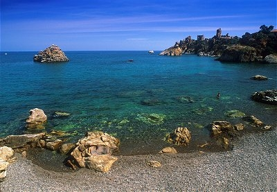 Cefalù in the province of Palermo