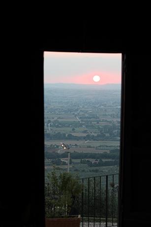 Vista Panoramica dal Ristorante del Castello Spoleto
