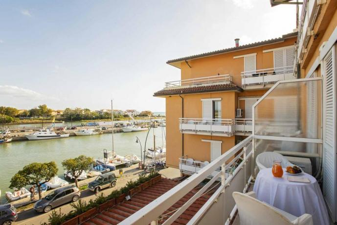 Terrazza panoramica Hotel4stelle Toscana