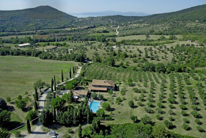 Agriturismo adatto per famiglie in Umbria