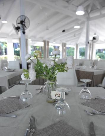 Resort ristorante interno pranzi cene Baia Domizia