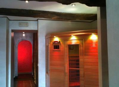 Sauna e Bagno turco in centro benessere