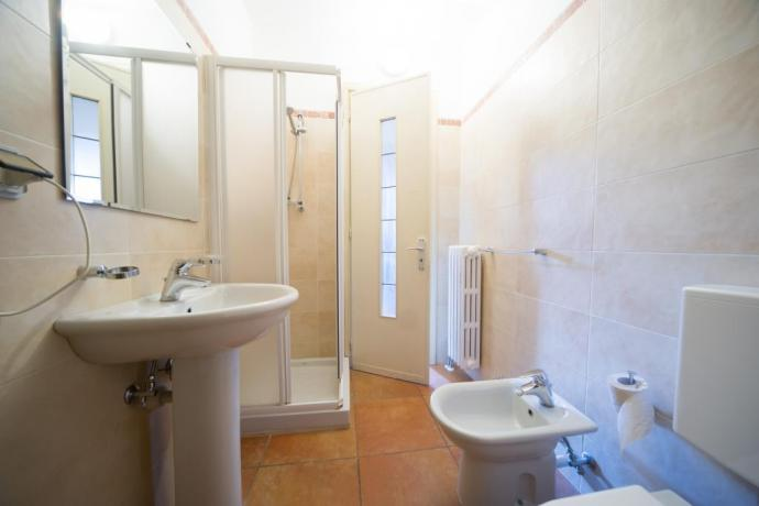 Appartamenti-vacanze monolocale-classico Bardonecchia bagno privato