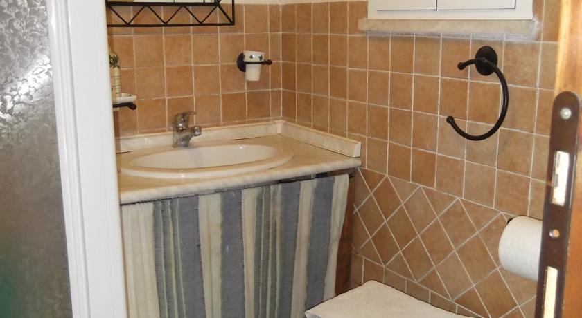 bagno della villa nei castelli romani