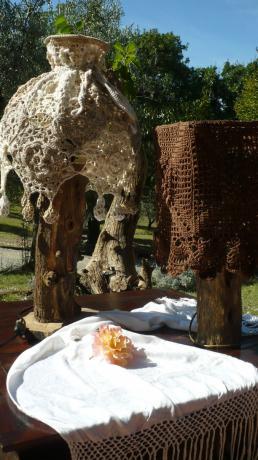 Casale a Montecchio in Umbria con giardino