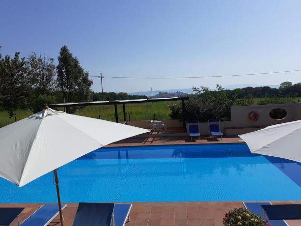 Casale con piscina per adulti Lago Trasimeno