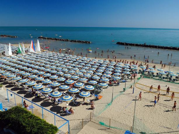 Animazione in Spiaggia Privata Hotel residence Montesilvano