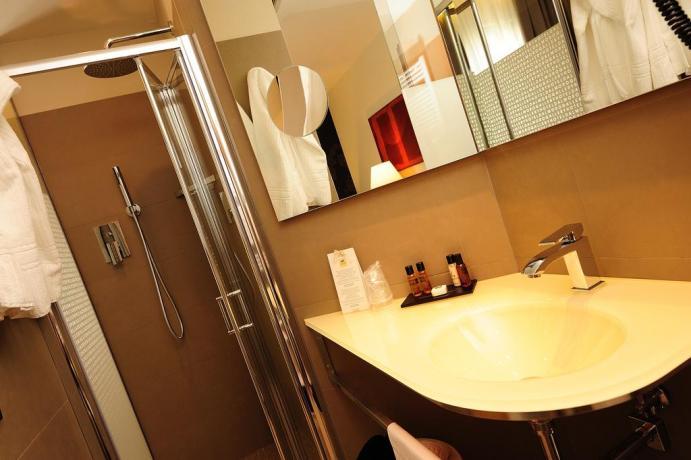 Assisi camere con Bagno privato con doccia
