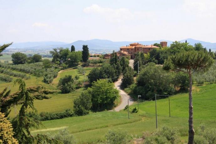 Villa Vacanza Dolce Vita Umbria Toscana