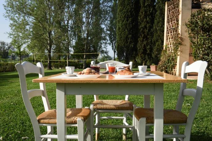 Agriturismo con buffet mattutino in Umbria