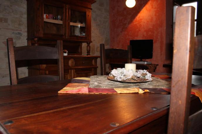 Agriturismo appartamento La Ghiaiata vicino Assisi