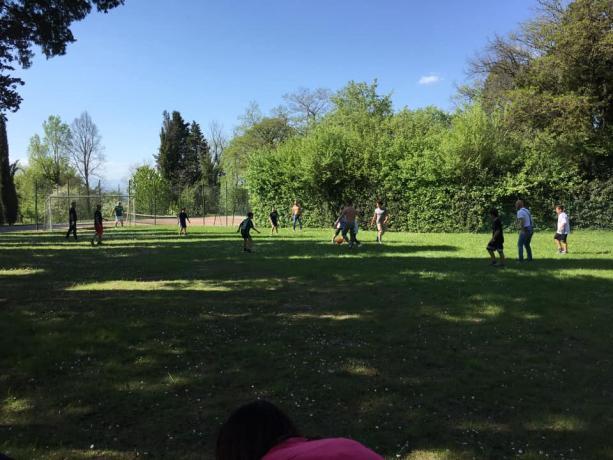 Grande parco ideale per bambini villa storica Umbria
