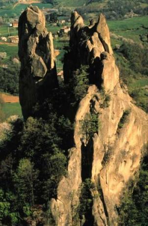 Regional park of Emilia Romagna region
