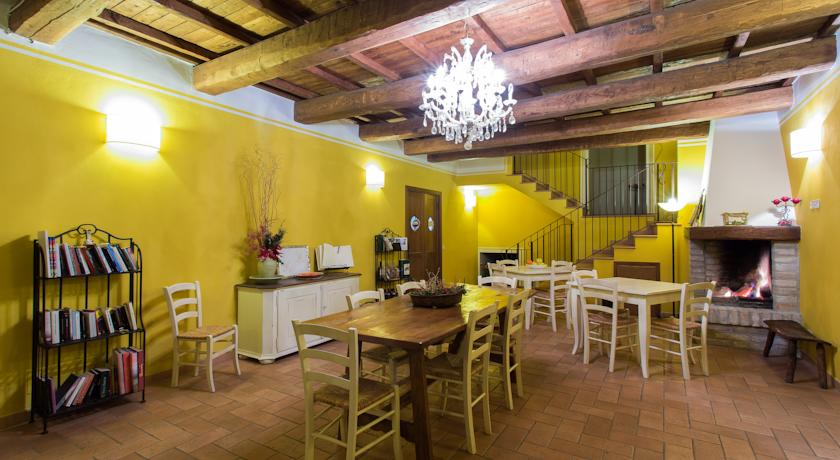 Rustico dell'agriturismo in Umbria