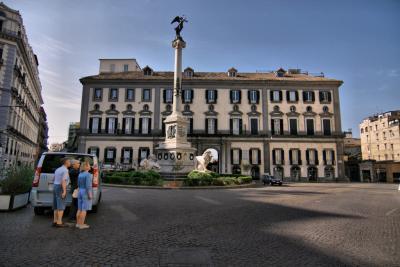 Piazza dei Martiri Napoli