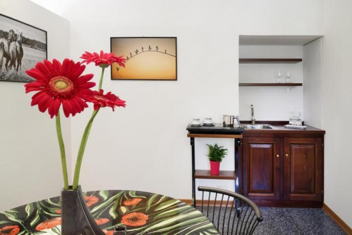 Sala giorno per 2 Appartamento-Clara Borgo-sul-Clitunno