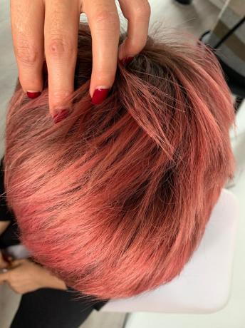 Capelli Ramati: colore, trattamento rinforzante