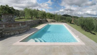 piscina 6x12 al Casale Agrituristico Allerona