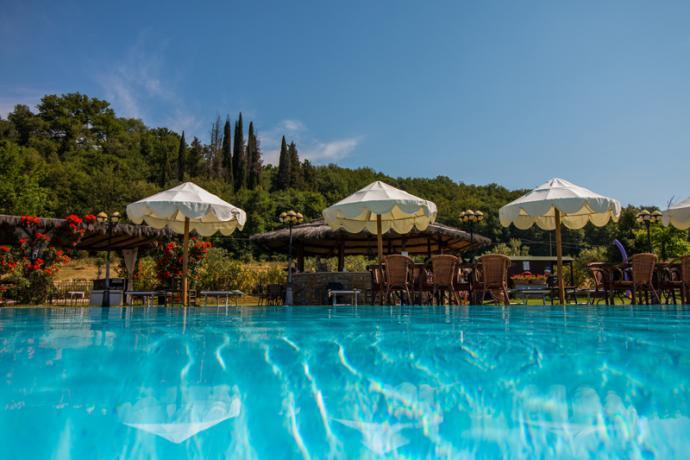 Casa vacanze campagna con piscina Capolana-Toscana