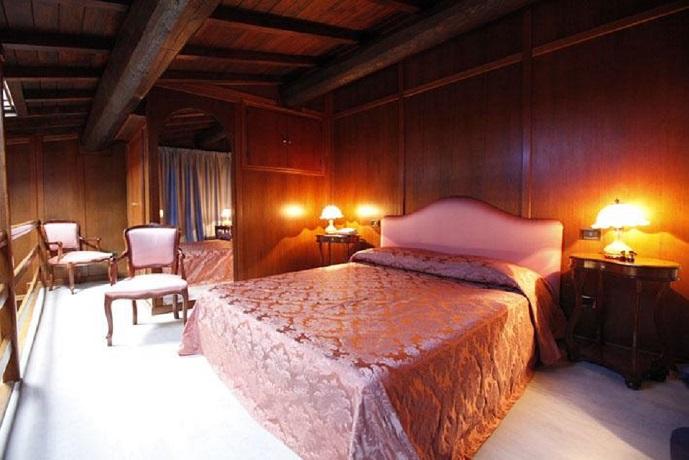 Suite matrimoniale soppalco Toscana Chianti