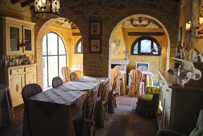 Sala Comune in Villa-Chiara in Umbria