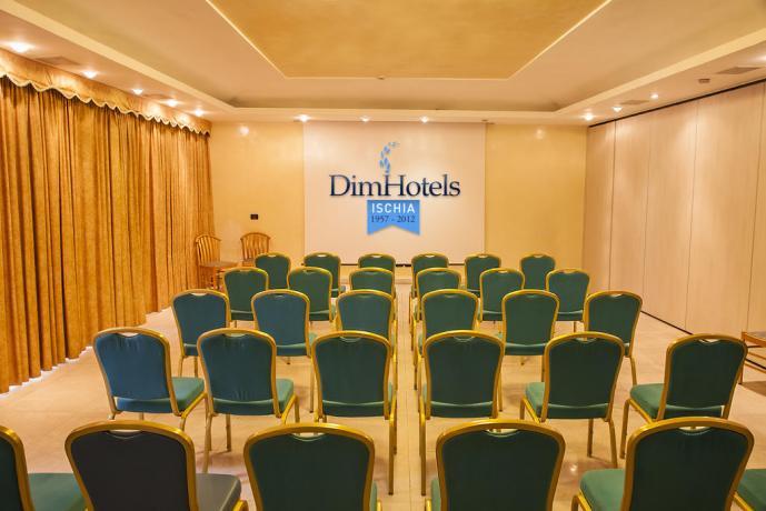 Sala conferenze Hotel per Gruppi Ischia