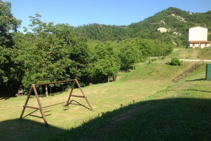 Panorama dal Casale Essiccatoio