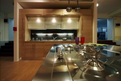 cucina moderna rovere sbiancato Arredamenti e Mobili in ...