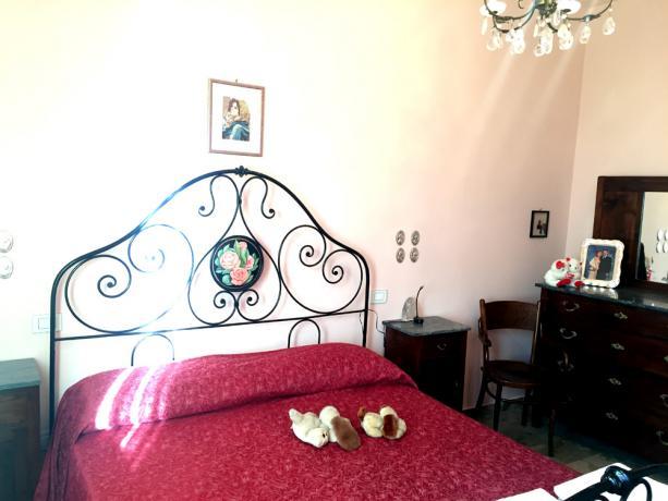 Trilocale bicamera, camera matrimoniale