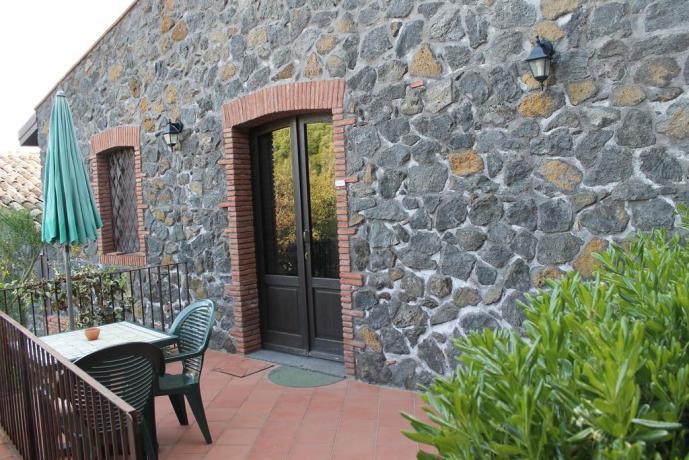 Balcone agriturismo ad Adrano vicino Paternò
