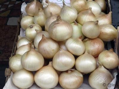 Onions market during the Sagra della Cipolla