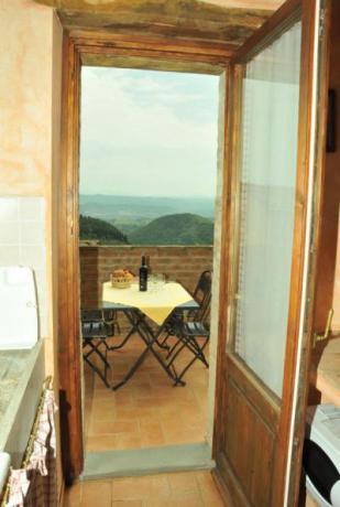 Appartamento con cucina e Terrazzo Panoramico