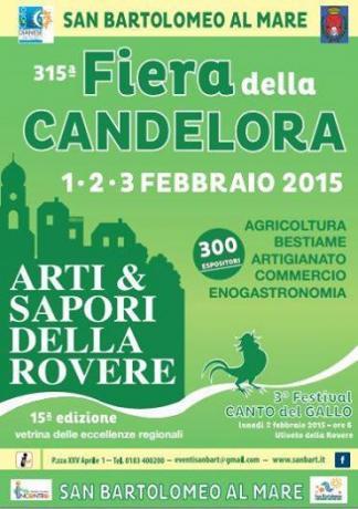 Fiera della Candelora 1/2/3 Febbraio San Bartolomeo al Mare (Imperia - LIGURIA)